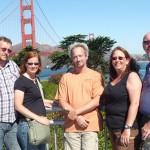 Die andere Seite der Golden Gate Bridge