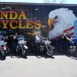 Abholung unserer Bikes